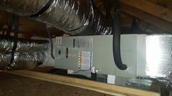 Complete attic installation