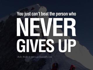 Motivaatio - se tärkein yksittäinen asia.