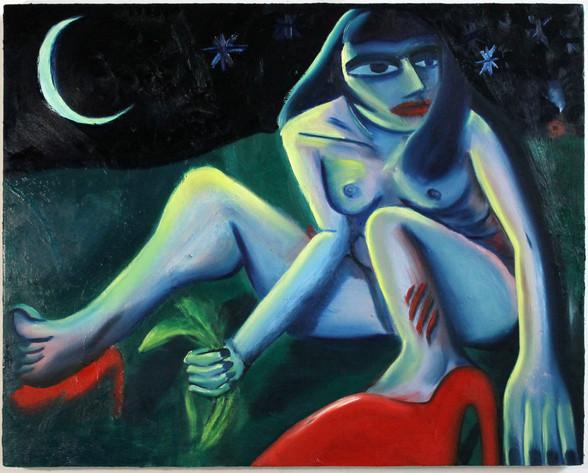 "Oil on Canvas 28"" x 36"" 2017"
