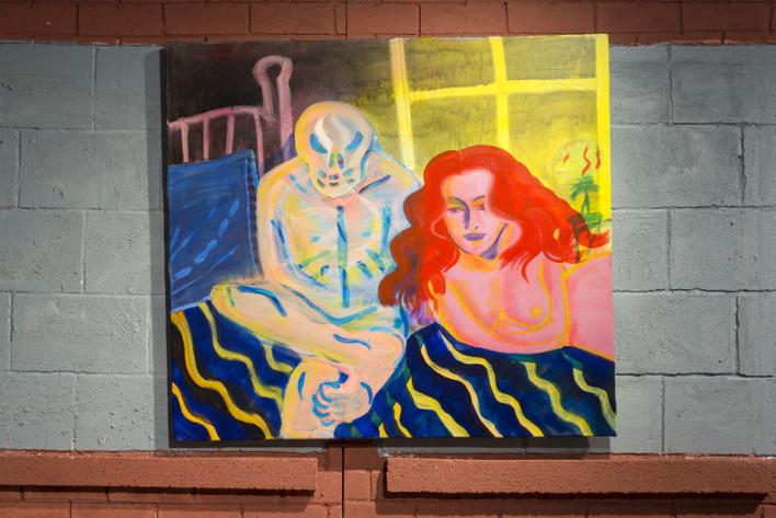 """Acrylic on Canvas 30"""" x 34"""" 2014"""