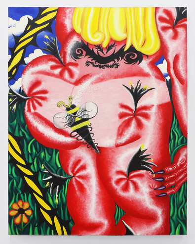 "Oil on Canvas 45"" x 60"""