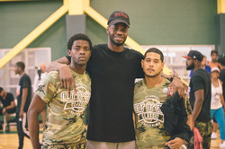 Nerlens Noel with Co-Founders Umemba and Castro