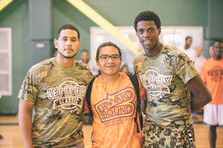 Let It Fly Co-founders with last year's scholarship recipients, Jonathan Gomez-Pereira