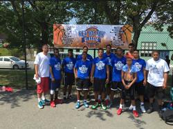 Team Lynn with Coach Paul and Coach Brian