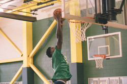 Team Chelsea Jahro Marshall Goes up for the dunk