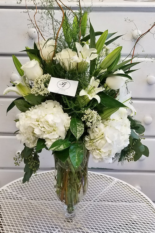 White Rainforest Bouquet