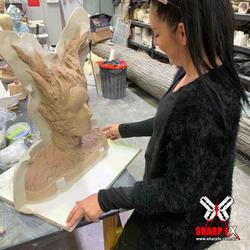 Sculpt prepping