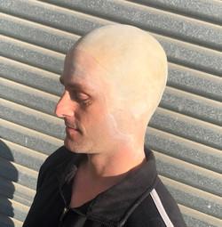 Bald Cap Application by Tania de Ross