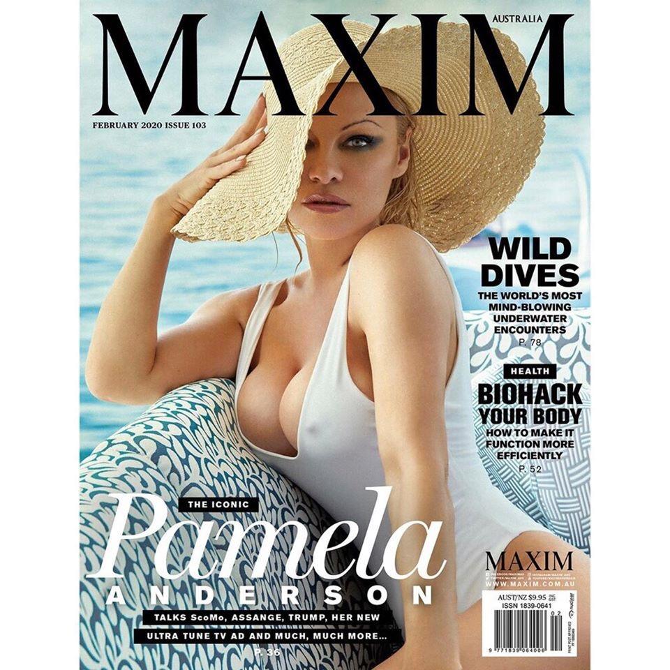 Pamela Anderson for Maxim Australia