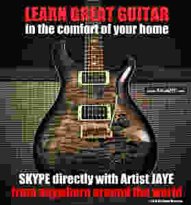 www.ArtistJAYE.com (1-on-1 Guitar Lessons with Artist JAYE)