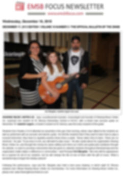 EMSB Guitar Teacher, English Montreal School Board, Artist JAYE's Sharing Music Unites Us™ cause