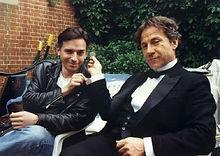 Simon Drake and Harvey Keitel