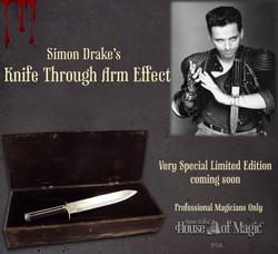 Simon Drake Knife through Arm Effect v2
