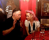 Katy Perry with Simon Drake at The House of Magic