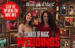 Enchanting weddings events