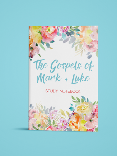 The Gospel of Mark & Luke - Bible Study Notebook