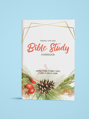 21-Day Bible Study Notebook : James, 1 Peter, 2 Peter, 1 John, 2 John, 3 John, & Jude