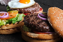 Due hamburger Delicious