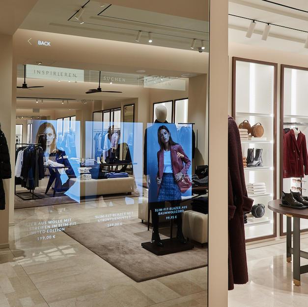 Smart Mirror Retail