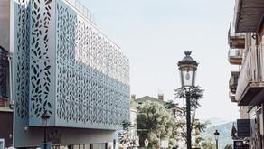 Habillage en résille, Immeuble Ciabrini - Porto-Vecchio