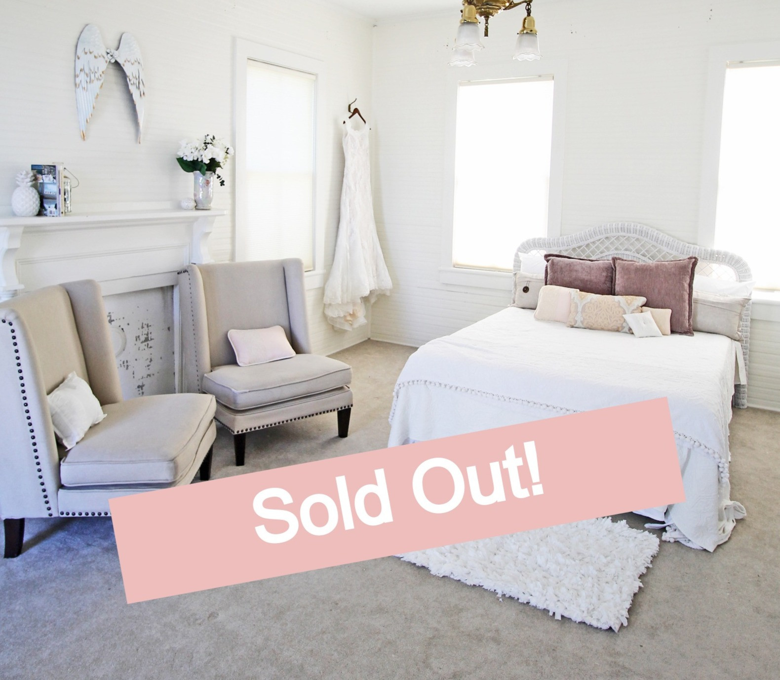 SOLD Sept 9-12 Upstairs Private Room - M