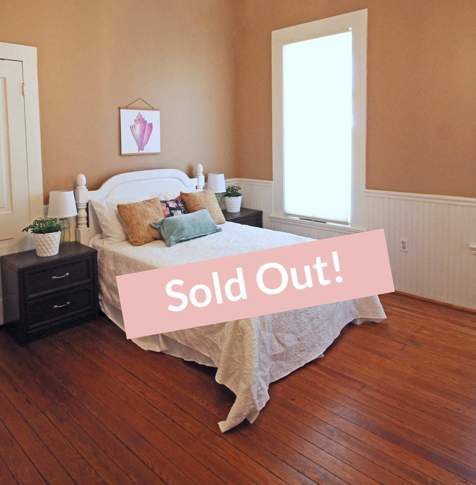 SOLD Sept 13-16 Downstairs Private Room