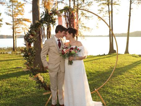 Romantic Alabama Wedding | Gabbi and Mark