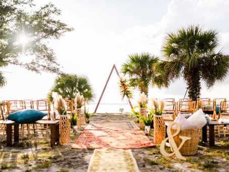 From Bare to Beautiful: How to Transition an Outdoor Space into a Wedding