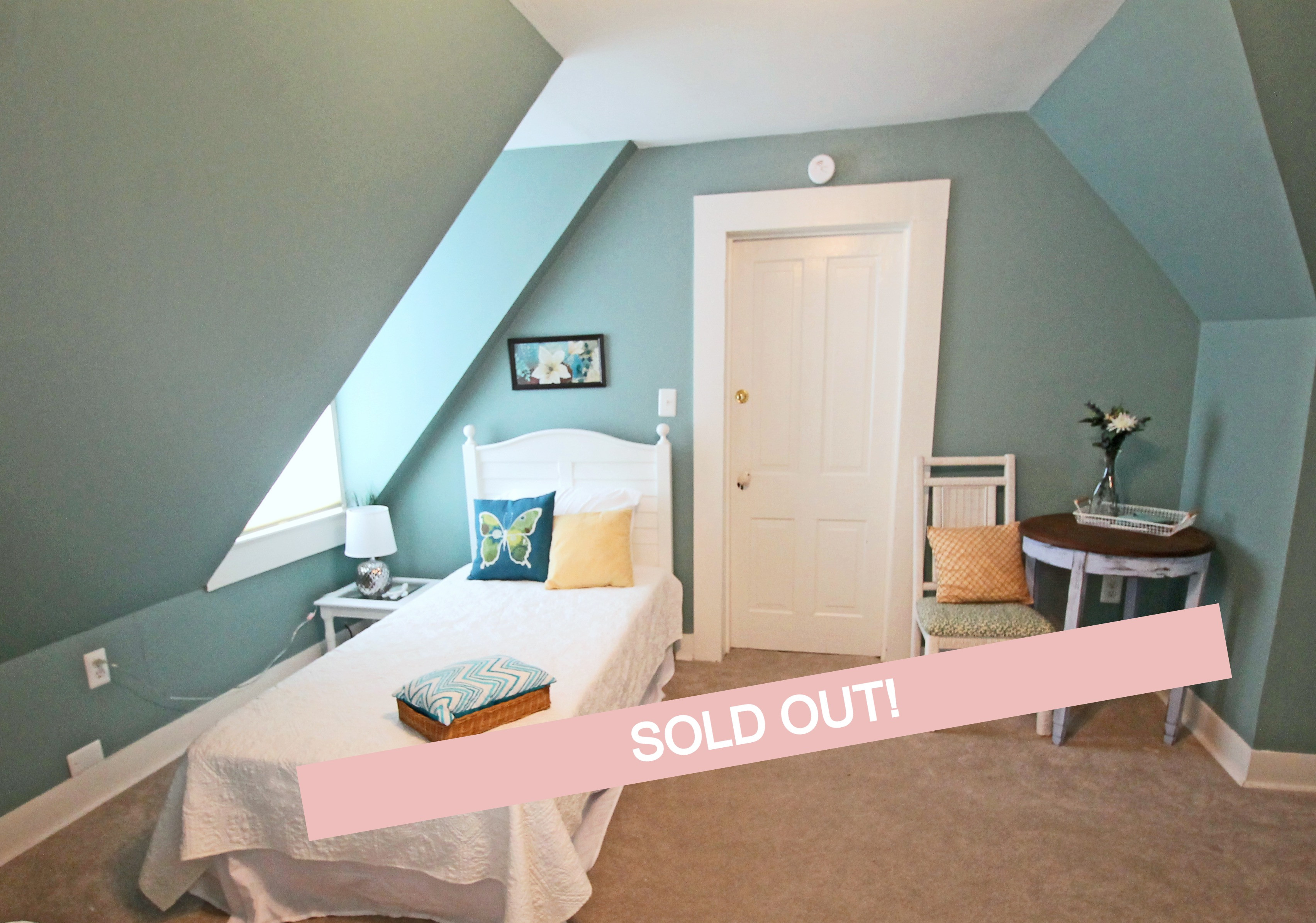 Sold out sept 13-16 Upstairs Shared Room
