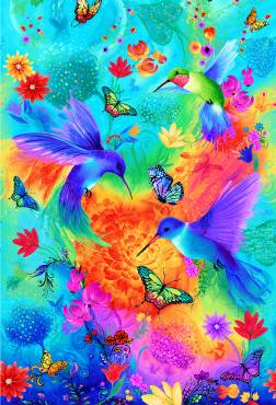 Rainbow Hummingbird - SOLD OUT