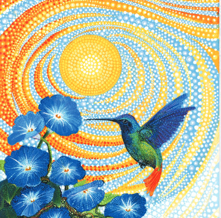 Hummingbird Sun - SOLD OUT