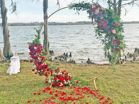 Lakeside Intimate Wedding near the Florida Panhandle | Lenna & Reggie