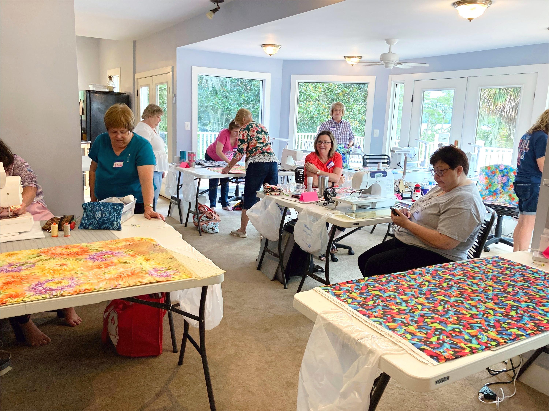 Open Sewing Quilt Retreat Sept 27-30
