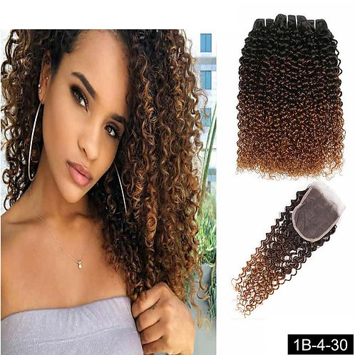 3X12 + 10 closure Tissage  Humain
