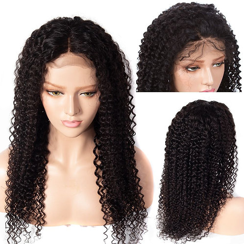 Kinky Curly Lace Front Human  18""