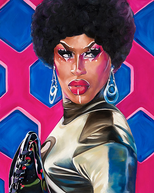 Shea Coulée Giclée Art Print