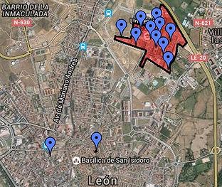 Mapa Campus de Vegazana