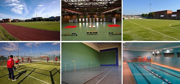 Instalaciones deportivas Universidad de León