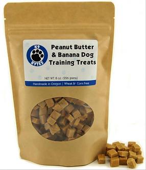 Peanut Butter & Banana Dog Treats