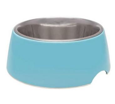 Electric Blue Retro Bowl