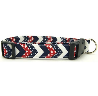 American Chevron Dog Collar