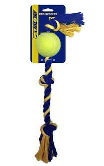 3-Knot Cotton Rope with Tuff Bal