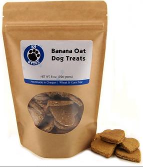 Banana Oat Dog Treats