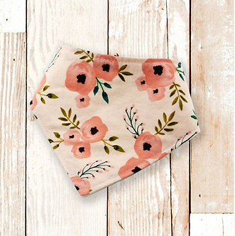 Blush Floral Dog Bandana