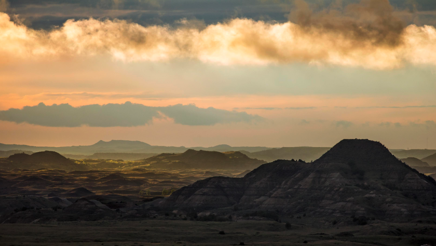 North Dakota Badlands - Medora