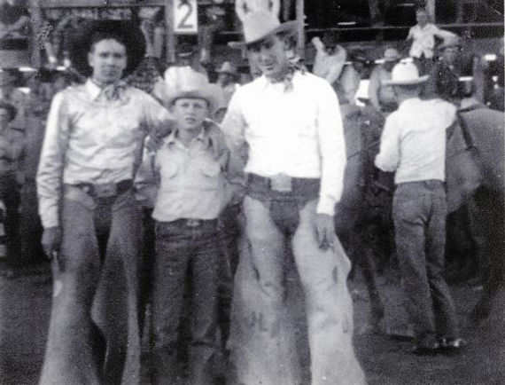 Casey Tibbs, Ernest, Bill Linderman Dick