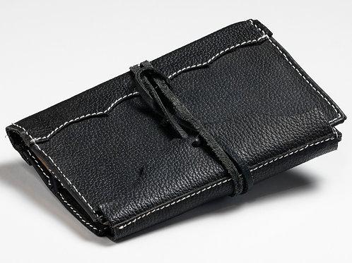 Handmade Black Leather Journal