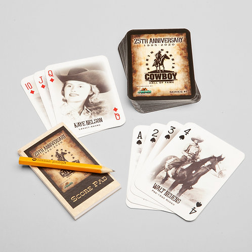 NDCHF Inductee Playing Cards - Set 1