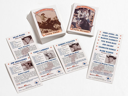 Special Edition Pro Rodeo Cards