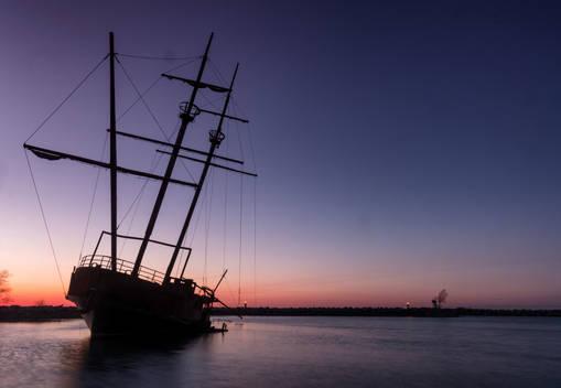 La Grande Hermine shipwreck